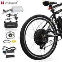 "Voilamart 26"" 48V 1500W Rear Wheel Kit Electric Bicycle  Conversion E Bike Motor  Motor Hub"