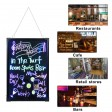 """Voilamart LED Message Writing Board, 24"""" x 16"""" Flashing Illuminated Erasable Message Memo Notice Menu Sign Board with Remote Control, 8 Colors Fluorescent Pens"""